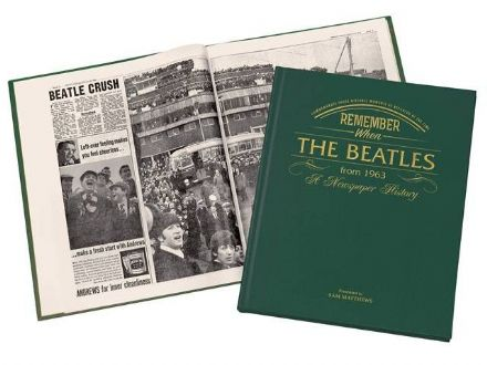 The Beatles - Newspaper Book